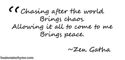 zen gatha