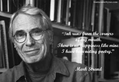 Portrait of US Poet Laureate Mark Strand, New York, New York, 2000. (Photo by Chris Felver/Getty Images)