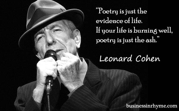 Leonard cohen postmodern essay