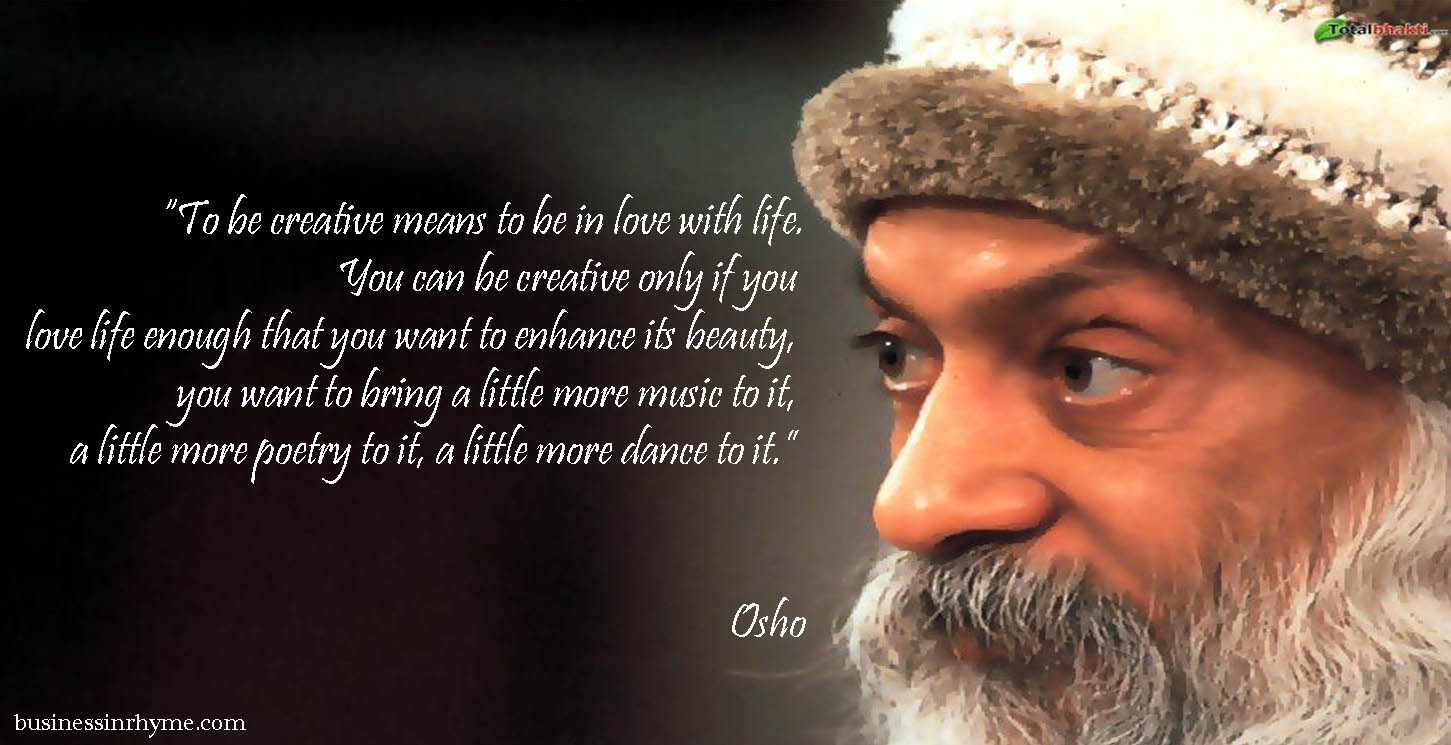 Daily Verse With Purpose: Osho