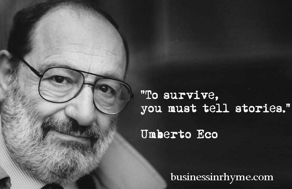 Daily Verse With Purpose  Umberto Eco  U2013 Business In Rhyme
