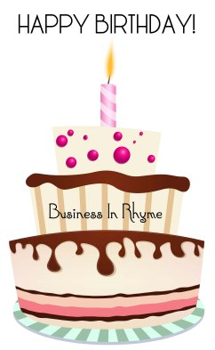 happy birthday business in rhyme