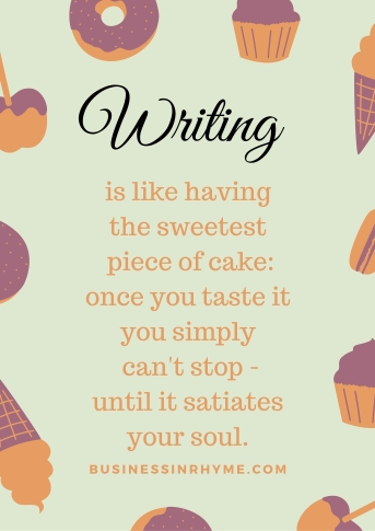Poetic inspiration writing