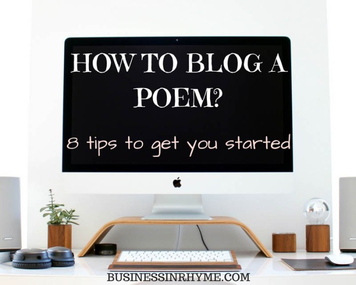 how-to-blog-a-poem